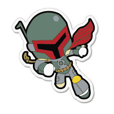 "Super Hero car bumper sticker decal 4"" x 4"""
