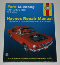 Reparaturanleitung Ford Mustang I V8 (1. - 4. Generation), Baujahre 1964 - 1973