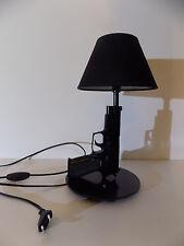 LAMPE DESIGN SIG SAUER noir (chevet bureau table pistolet police arme no Starck)