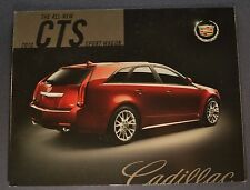 2010 Cadillac CTS Sport Wagon Sales Brochure Folder Excellent Original Canadian