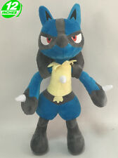 Pokemon Inspired Lucario Plush Doll