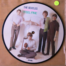"THE BEATLES I FEEL FINE 20TH ANNIVERSARY 7"" Vinyl Picture Pic Disc"