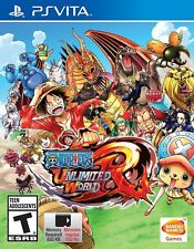 One Piece Unlimited World Red [PlayStation Vita PSV, NInja Battle Action] NEW