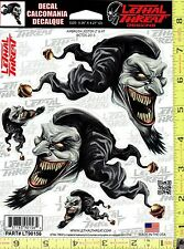 Evil Crazy Jester Window Decal Sticker for Car/Truck/Motorcycle/Laptop 90156