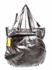 NWT Latico  Satchel Bag Leather Black Silver Hardware