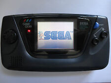 NEW GLASS SCREEN sega game gear black handheld system console, fully refurbished