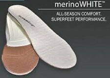 SUPERFEET MERINO WHITE INSOLE 2.5 3 4 35 36 37 B IDEAL FOR WINTER SHEEPSKIN BOOT