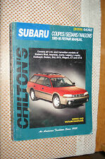 1985-1996 SUBARU SERVICE MANUAL SHOP BOOK REPAIR 86 87 88 89 90 91 92 93 94 95