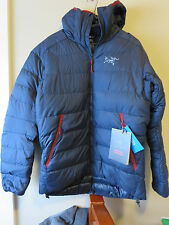 Mens New Arcteryx Thorium SV Hoody Jacket Size Small Color Admiral