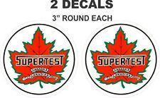 2 Supertest Canada's All Canadian Company Vinyl Decals