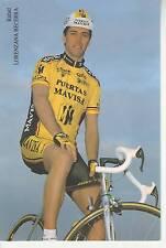CYCLISME carte cycliste rafael LORENZANA BECERRA équipe PUERTAS MAVISA 1992