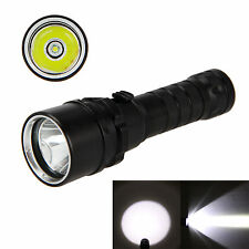 Waterproof 3000LM XML U2 LED Diving Scuba Flashlight Torch Underwater Lamp 18650