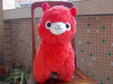 New Huge Kawaii Red ALPACA Llama Cute Plush Alpacasso Arpakasso Toy Gift