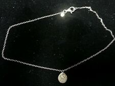 Silpada Sterling Silver Brass and Pearl Necklace and Pendant
