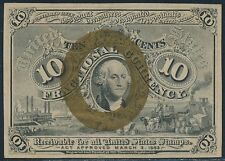 Fr1240 10¢ 2Nd Issue Fractional Currency Au Br3285