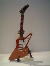 Miniature Guitar (24cm Tall) : U2 THE EDGE GIBSON EXPLORER