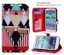 Samsung Galaxy S3 Leather Wallet Case INCLUDES STYLUS Nakeey