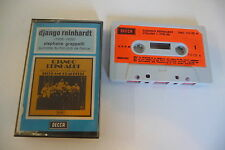 K7 AUDIO TAPE CASSETTE JAZZ DJANGO REINHARDT STEPHANE GRAPPELLI QUINTETTE HOT