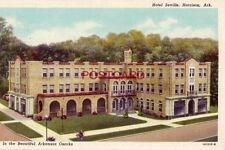 HOTEL SEVILLE, HARRISON, IN THE BEAUTIFUL ARKANSAS OZARKS