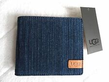 UGG Pacific Blue BI-FOLD WALLET Notes Cards BRAND NEW