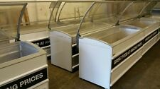 2 X COMMERCIAL CHEST FREEZER FOR £499  NOVUM CURVE GLASS LID WIDTH 1710mm