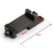 2PCS Tactical 45 degree Angle Offset Side RTS 20mm Picatinny Rail Scope Mount