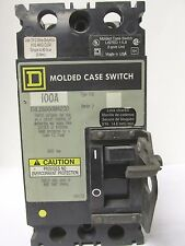 SQUARE D FHL26000M4200 100 AMP 2 POLE  MOLDED CASE SWITCH ....... UB-44