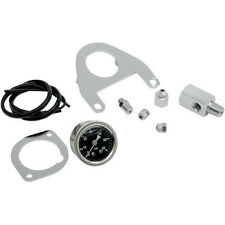 Harley FLST FXST FXD FLHT 1999-and Newer Drag Specialties Oil Pressure Gauge Kit