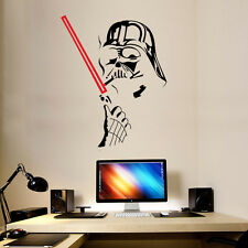 Star Wars Wall Sticker Vinyl Darth Vader Art Wall Decals Home Decor Removable