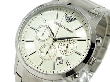 New Men's Emporio Armani AR2458 Watch Tags Warranty Box RRP $549