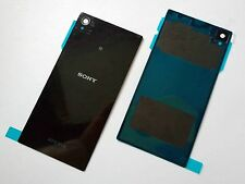 Replacement BLACK Battery Back Glass Cover Panel for Sony Xperia Z1 L39h C6903