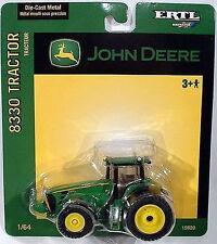 John Deere Britains Ertl 8330 Ruedas Modelo Tractor con dos ruedas 1:64 15920