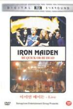 DVD NEUF  IRON MAIDEN   BE QUICK OR BE DEAD raising hell live  NEW  RAISING HELL
