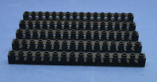 LEGO 5 x Technik Technic Lochstein 1x16 15 Löcher 3703 schwarz black hole bricks