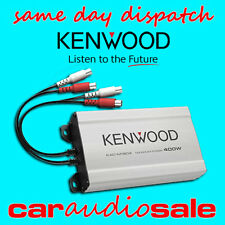 KENWOOD KAC-M1804 400 WATT 4 CHANNEL SLIM COMPACT POWER SPEAKER AMPLIFIER