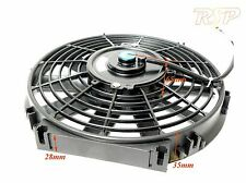 """Universl 10"""" Slim Electric Radiator Fan push or pull use on Kit or Project Car"""