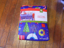 """Target Christmas Table Cloth 60"""" x 84"""" Oblong, New In Box"""
