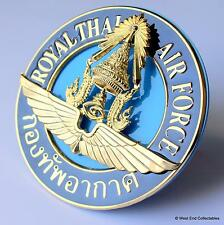 Superbe inhabile voiture badge-royal thai air force-auto raf calandre mascotte
