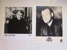 JOE COCKER 2 8x10 photos