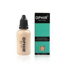 OPHIR 1oz/Bottle Air Concealer Foundation Makeup Cosmetic for Airbrush Makeup 1#