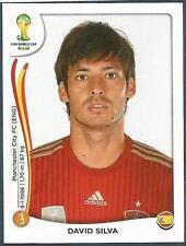PANINI WORLD CUP 2014- #121-ESPANA-SPAIN & MANCHESTER CITY-DAVID SILVA