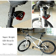 Cycling Bike Bicycle Super Bright Red 5 LED Rear Tail Light Lamp for Seatpost