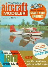 1969 American Aircraft Modeler Magazine: Gerald Leake's Realistic Jungster/1918