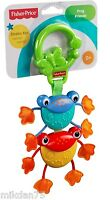 Fisher Price Frog Friends Teething Fun Toy By Mattel