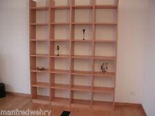 Bücherregal Kirschbaum Regalwand Wohnwand Kirsche Regal Massivholz Bücherwand