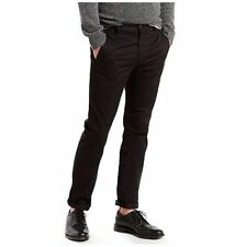 Levi's 511 Size 30 x 32 Black Chino Slim Fit Tapered Leg Hybrid Trouser Pants