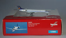 Herpa 526050 Embraer ERJ-145LI Belgian Air Force CE-04 in 1:500 scale