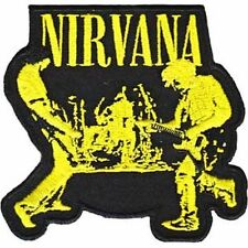 Nirvana Live - Embroidered Patch - Brand New - Cobain 4227
