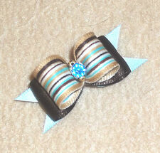 """HEAVENLY DOG BOW~5/8""""~X-SMALL~D/L~FOR BOYS~Show/Casual~Yorkies,Maltese,Shih Tzu+"""