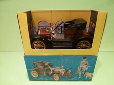 SCHUCO 1238 OLDTIMER OPEL DOKTOR WAGEN 1909 - GOOD CONDITION IN BOX - WINDUP